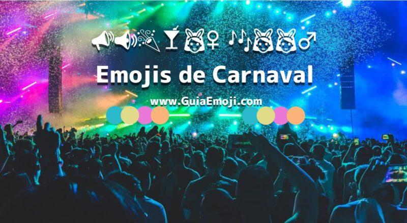 conheça os emojis para carnaval 📣📢🎉🍸👯♀️🎶