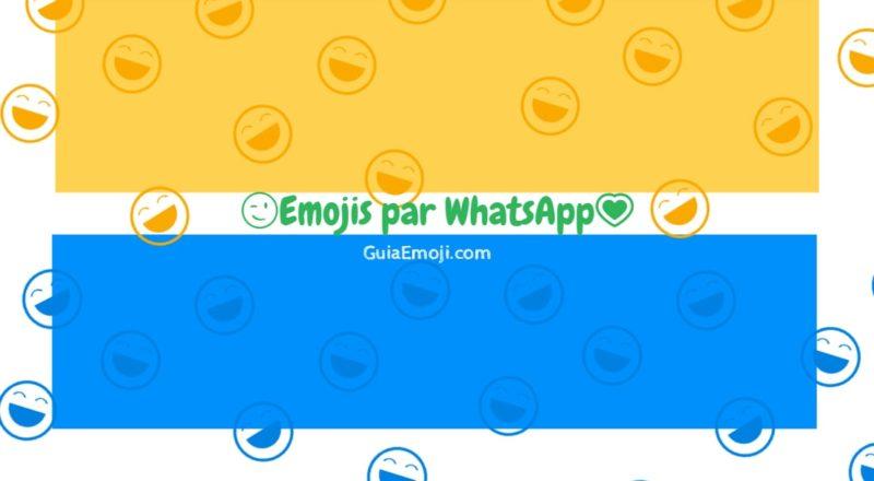 Emojis para WhatsAPP