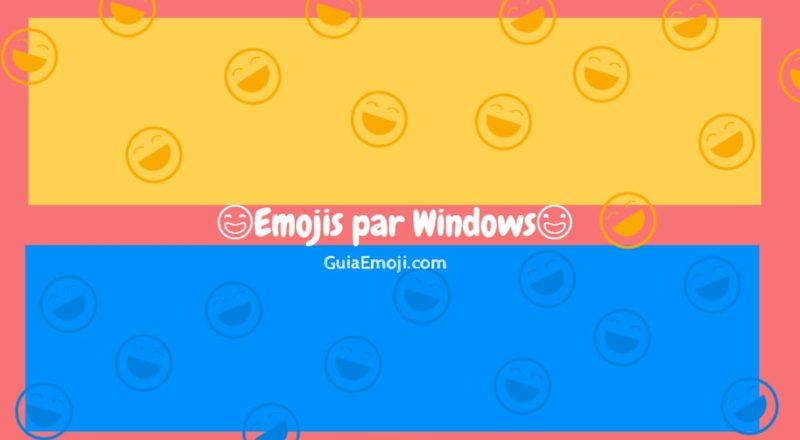 Emojis para Windows