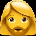 mulher barbada